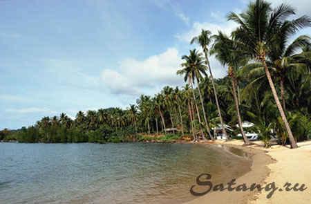 Bailan bay - коралловый залив на западной части острова