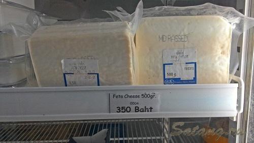 Молочные продукты на острове Ко Чанг