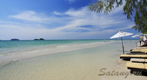 Лучшие песчаные пляжи острова находятся на Клонг Прао, это факт!