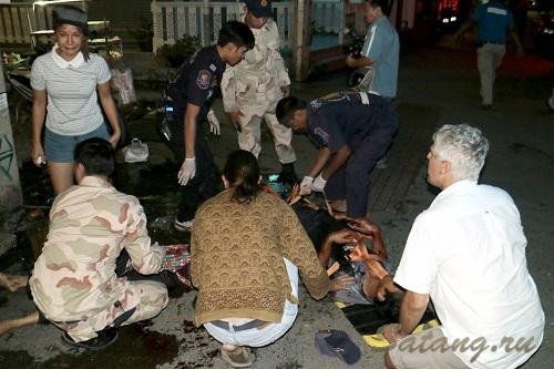 Трагическое происшествие в Тайланде