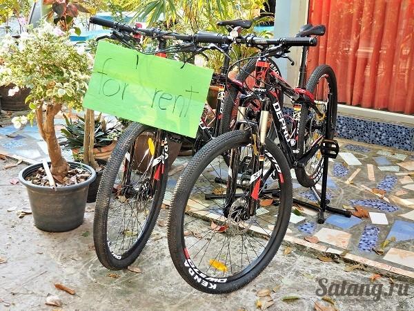 Велосипеды на Ко Чанге