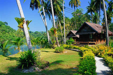 Koh Kood Neverland beach resort на пляже Ao Jak Nok (Ко Куд)