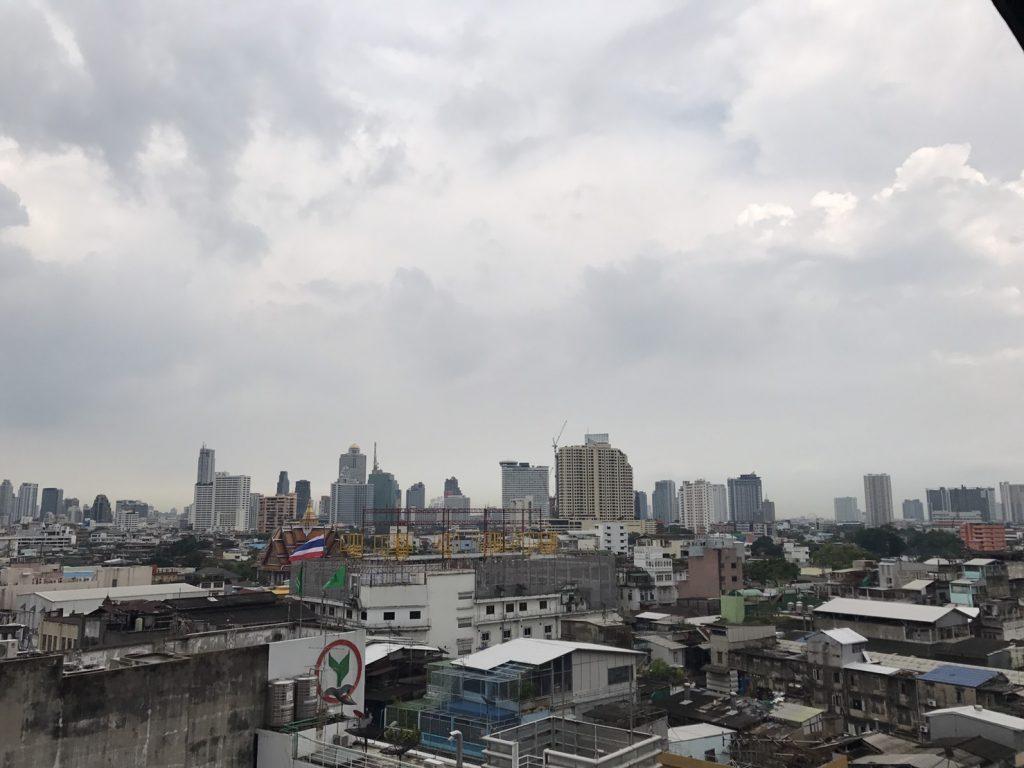 Бангкок с высоты птичьего полёта