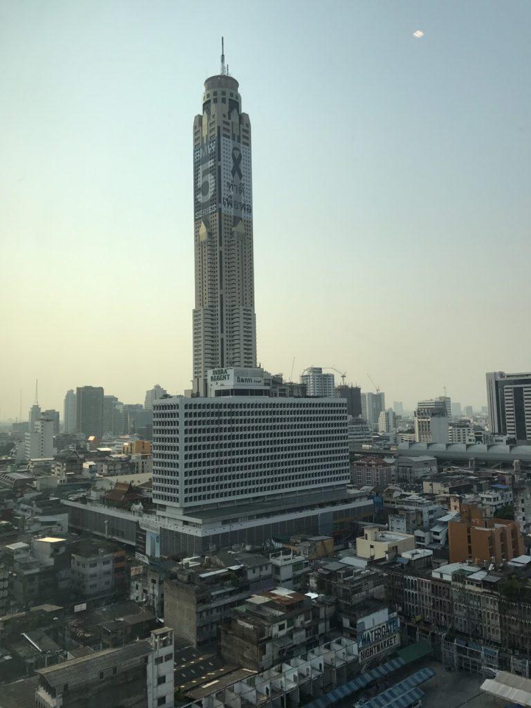 Одно из самых выоских строений города - Байок Скай