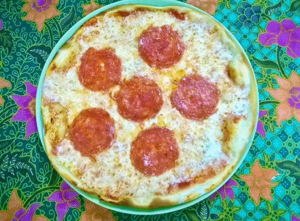 Изумительная пицца на Чанге
