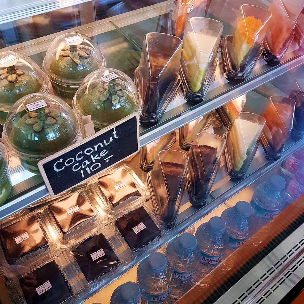 Разнообразный выбор сладостей